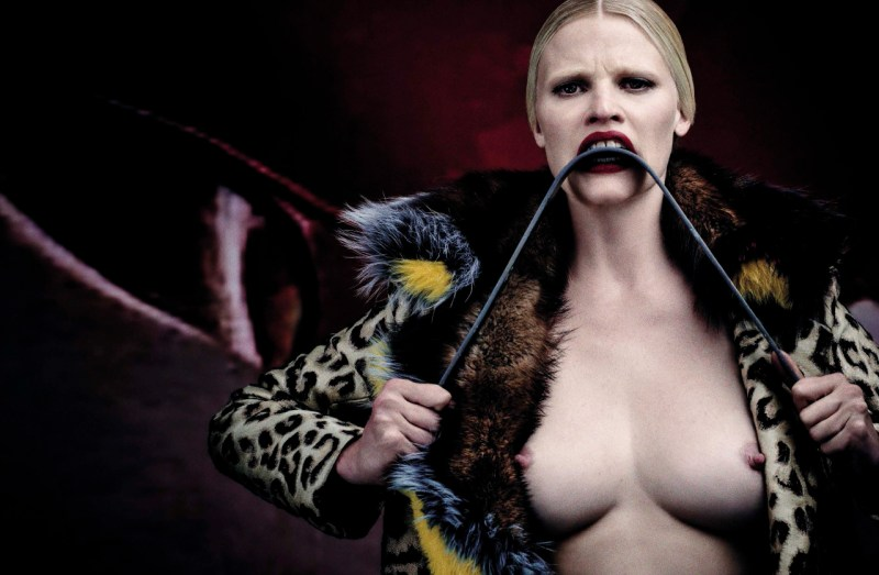 Lara Stone by Steven Klein (16)