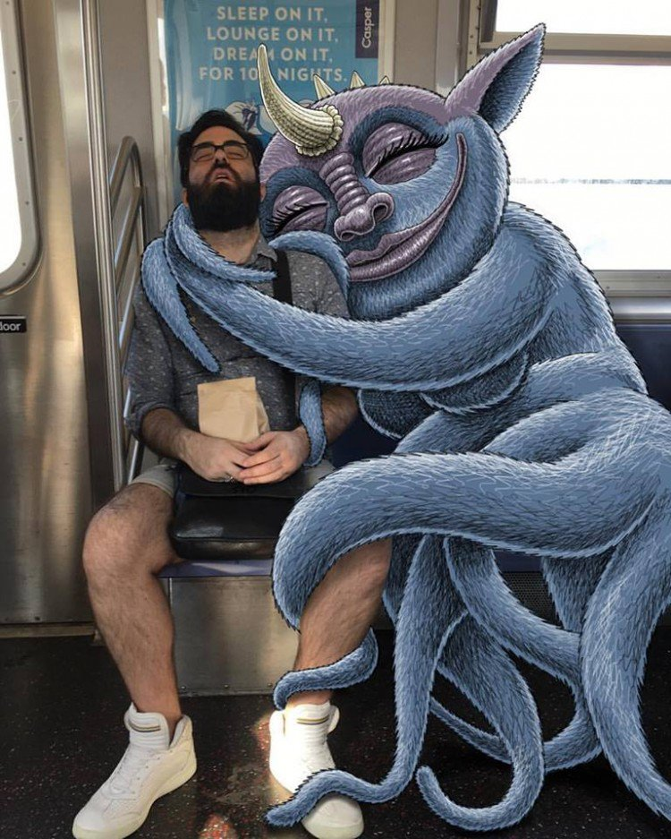 nyc-subway-monsters-by-subwaydoodle-1