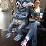 NYC Subway Monsters by Subwaydoodle