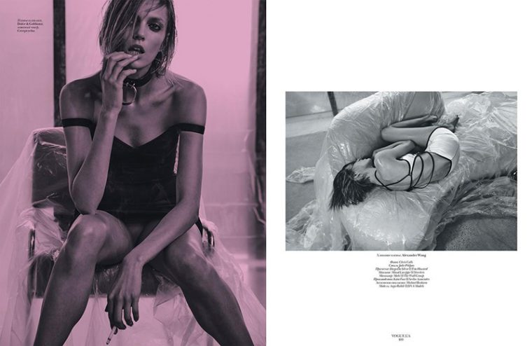 Anja Rubik by Chris Colls (7)