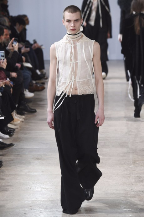 Ann Demeulemeester Menswear FW 2017 Paris22