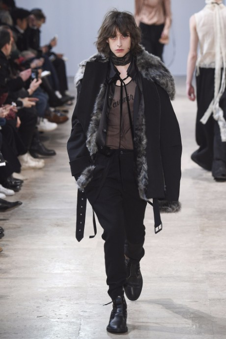 Ann Demeulemeester Menswear FW 2017 Paris29