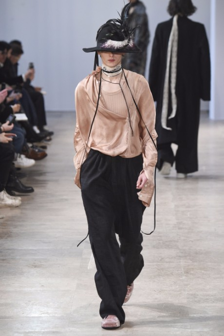Ann Demeulemeester Menswear FW 2017 Paris30