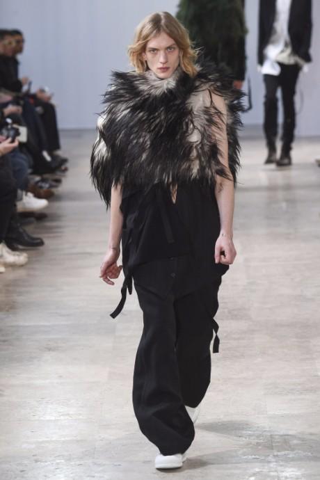 Ann Demeulemeester Menswear FW 2017 Paris38