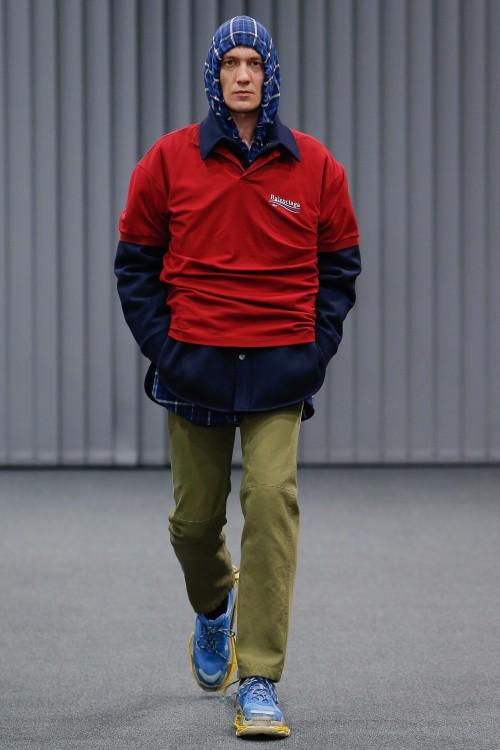 Balenciaga Menswear FW 2017 Paris27