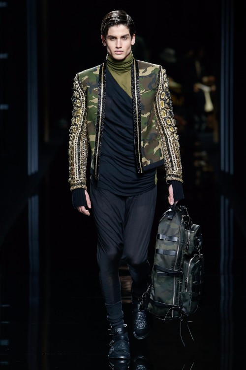 Balmain Menswear FW 2017 Paris1