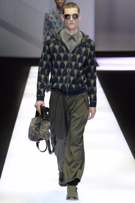 Emporio Armani Menswear FW 2017 Milan26