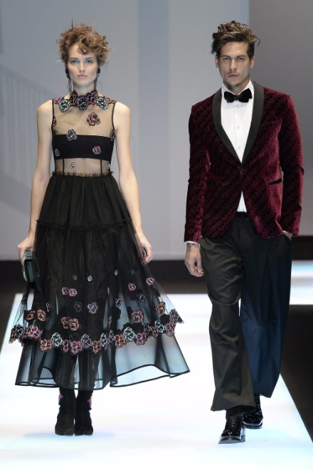 Emporio Armani Menswear FW 2017 Milan88