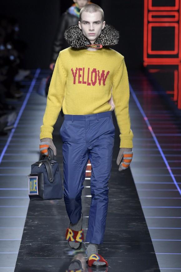Fendi Menswear FW 2017 Milan48