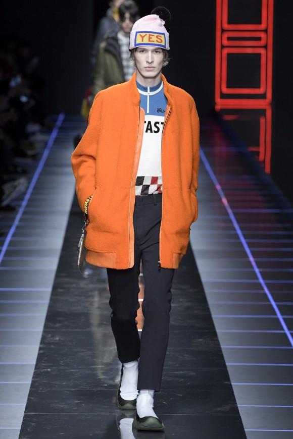 Fendi Menswear FW 2017 Milan50