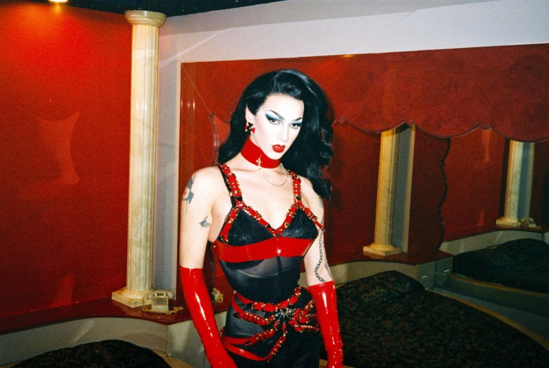 Violet Chachki for Latex Lucifer1