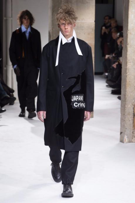 Yohji Yamamoto Menswear FW 2017 Paris13