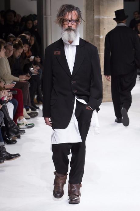 Yohji Yamamoto Menswear FW 2017 Paris24