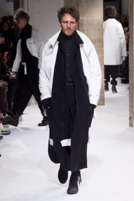 Yohji Yamamoto Menswear FW 2017 Paris29