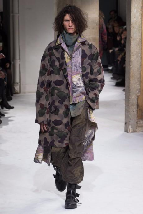 Yohji Yamamoto Menswear FW 2017 Paris35
