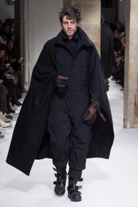 Yohji Yamamoto Menswear FW 2017 Paris43