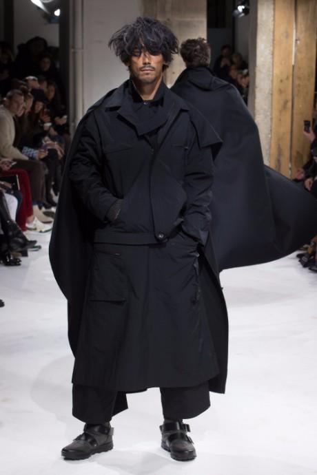 Yohji Yamamoto Menswear FW 2017 Paris44