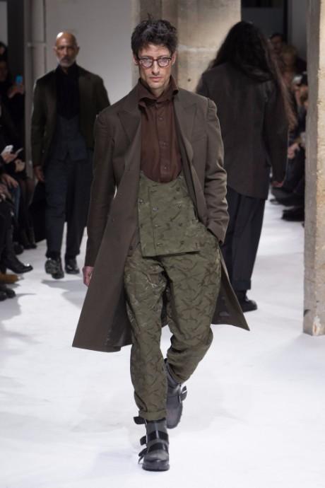 Yohji Yamamoto Menswear FW 2017 Paris9