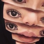 Extreme Optical Illusion Makeup by Mimi Choi | Video