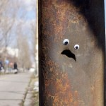Street Objects Turned to Silly Characters