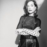 Isabelle Huppert by Camille Vivier