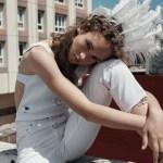 Adrienne Juliger by Van Mossevelde