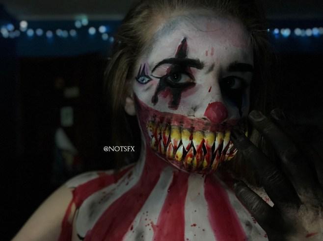 clown - SFX Designer, Nikki Migliore