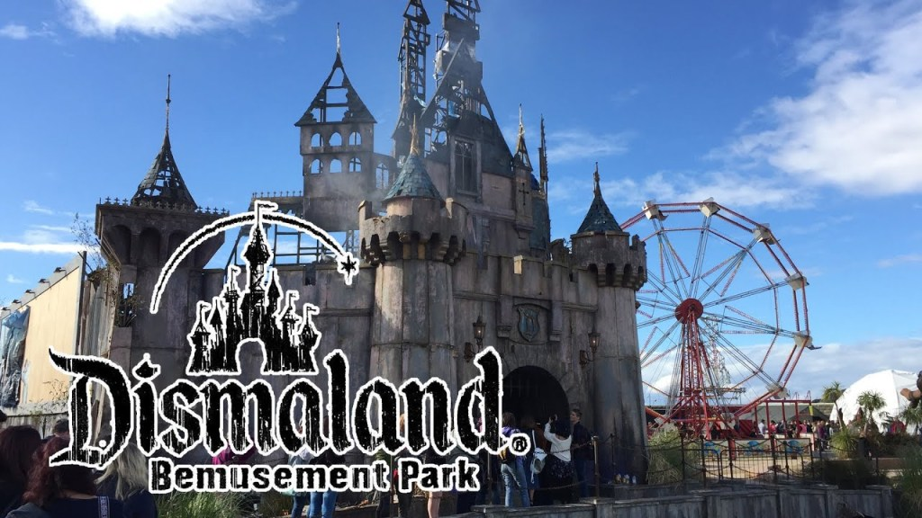Dismaland Bemusement Park: Satirical and Disturbing
