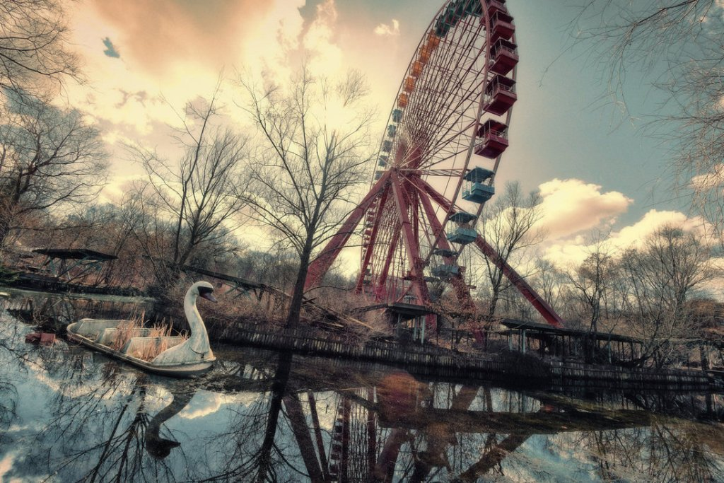Spreepark: The Abandoned Amusement Park in Germany