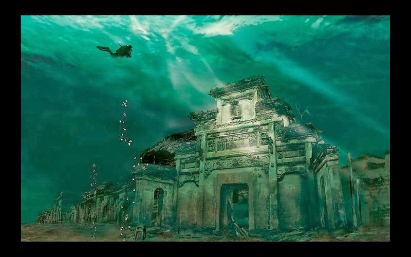 Ancient Underwater City in China