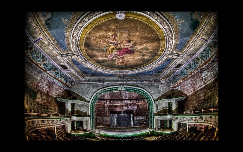 Orpheum Theatre in New Bedford, Massachusetts