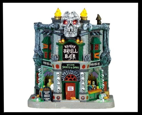 Lemax Spooky Town Collection for 2021