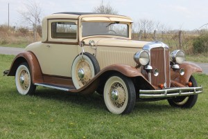 one of our classic car restoration projects in Middle, Tennessee a 1931 Chrysler 70 Series
