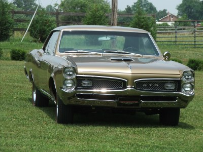 one of our classic car restoration projects in Middle, Tennessee a 1967 Pontiac GTO