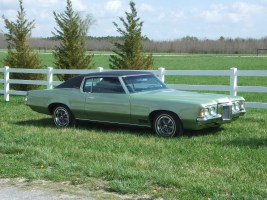 one of our classic car restoration projects in Middle, Tennessee a 1970 Pontiac Grand Prix J Model
