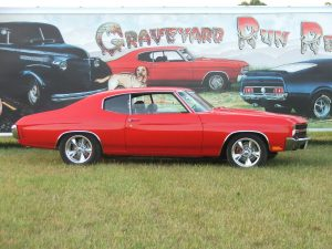 one of our classic car restoration projects in Middle, Tennessee a 1970 Chevy Chevelle