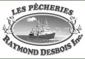 Logo Les Pêcheries Raymond Desbois | Gravi-T Communication