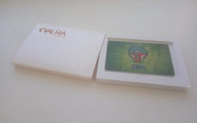 Изготовление коробок для подарочных пластиковых карт