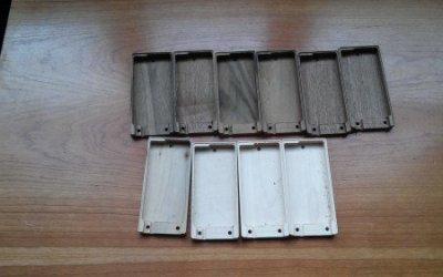 Изготовление деревянного корпуса для гаджета в Киеве