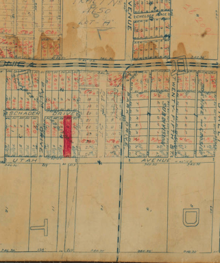 1906 - Official Map of the City of Santa Monica