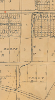 1910 - Santa Monica Map