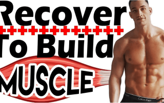 Build muscle faster with proper recovery