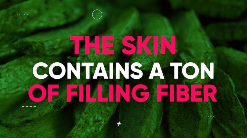 potato-skin-fiber-filling-burns-belly-fat