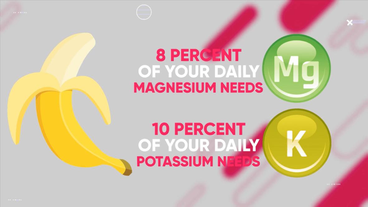 bananas provide magnesium and potassium