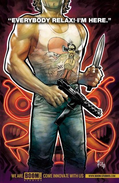 """Boom! Teases """"Big Trouble in Little China"""" Series"""