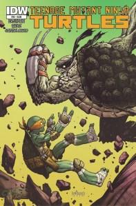 Teenage Mutant Ninja Turtle #35 Cover Reveal
