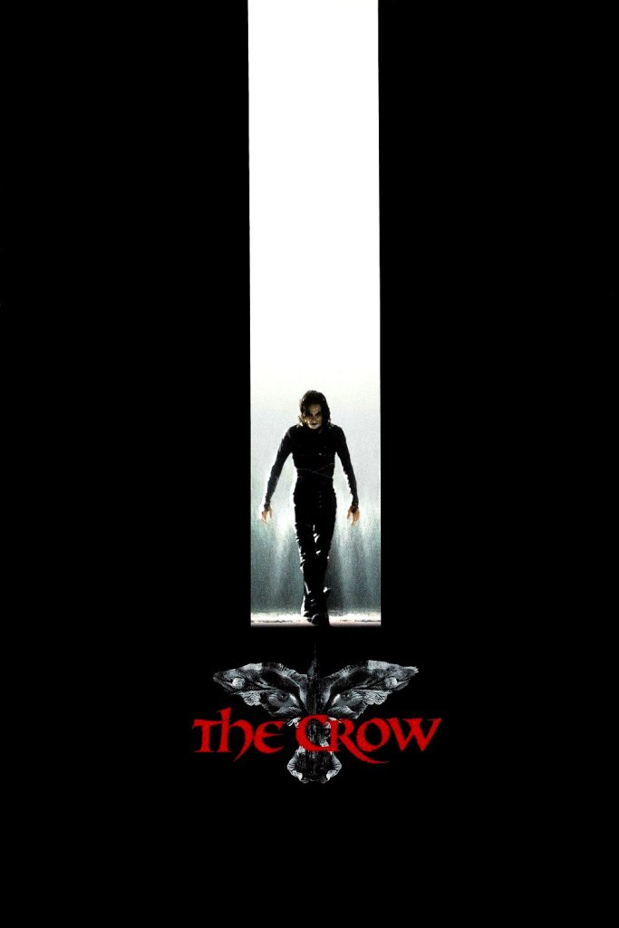 "Poster for the movie ""The Crow"""