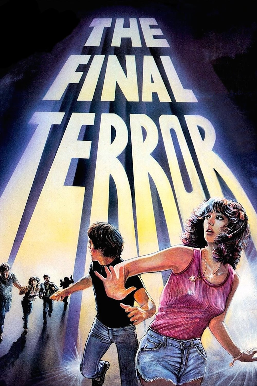 """Poster for the movie """"The Final Terror"""""""