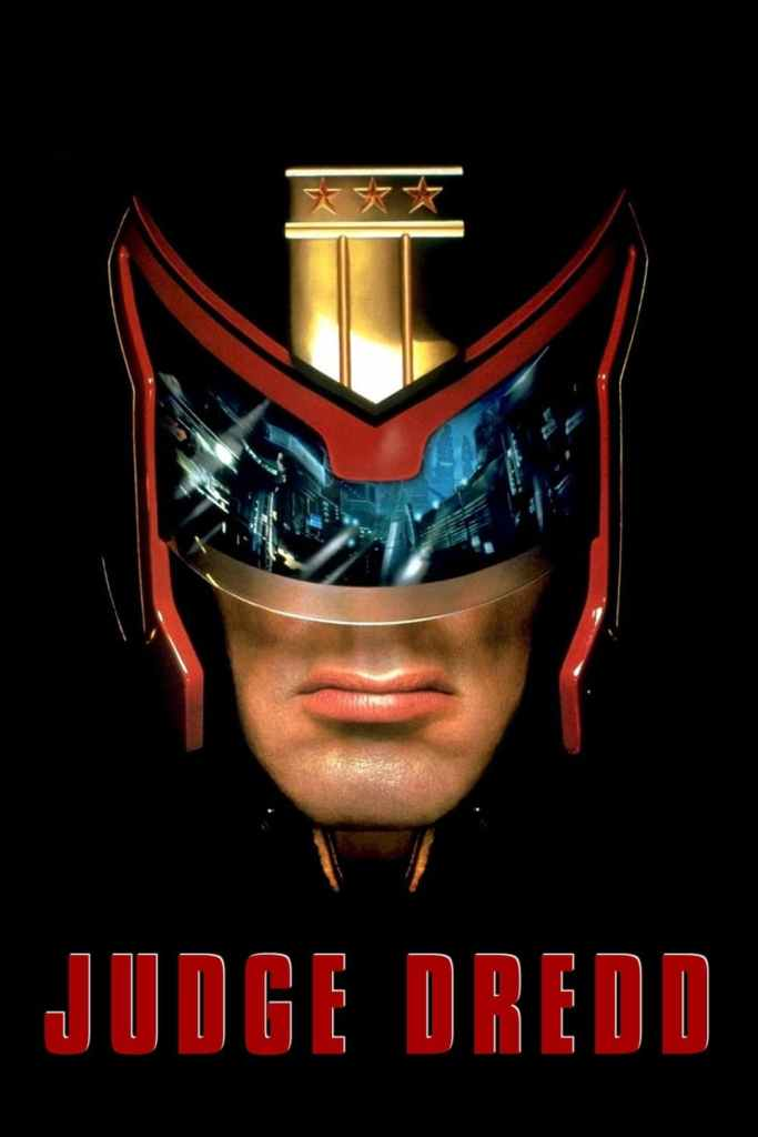 "Poster for the movie ""Judge Dredd"""