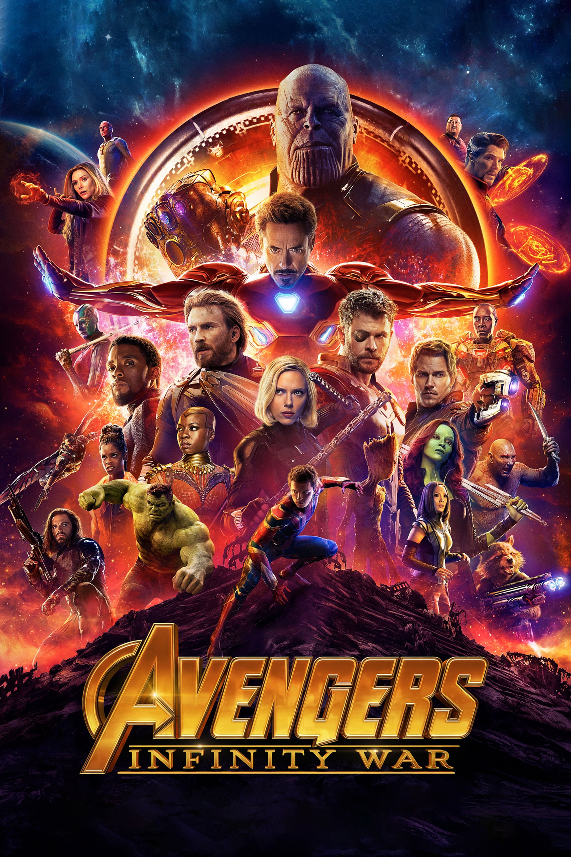 """Poster for the movie """"Avengers: Infinity War"""""""